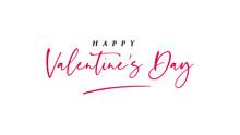 Happy Valentine's Day  Letteri...
