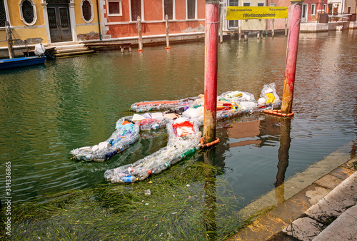 Fotomural Chioggia, Venice, Veneto, Italy August 1, 2019
