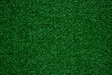 Green Artificial Grass Background As Background
