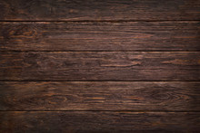Wooden Dark Brown Retro Shabby...