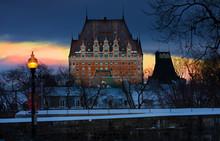 The Famous Quebec Hotel Fairmont Le Château Frontenac