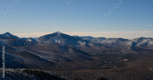 The great mountain range