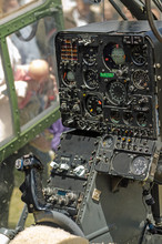 Gazelle Helicopter Controls