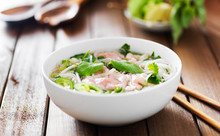 Vietnamese Pho With Beef, Chil...