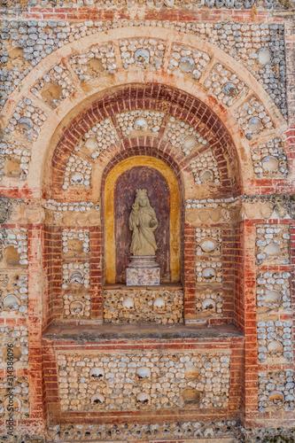Tela Chapel of Bones (Capela de Ossos) in Faro, Portugal