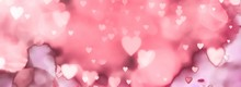 Abstract Valentines Day Backg...