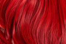 Close Up View Of Red Colored H...