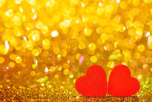 Red Little Decorative Hearts A...