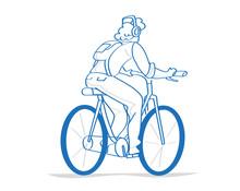 Uomo In Bici, Ciclista, Giro I...