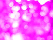 canvas print picture - abstract background with pink bokeh light concept valentine day
