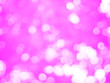 canvas print picture - pink bokeh light concept valentine day background
