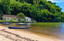 Pontal Beach In Paraty, Rio De...