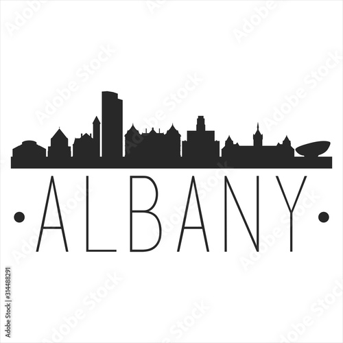Albany New York Canvas Print