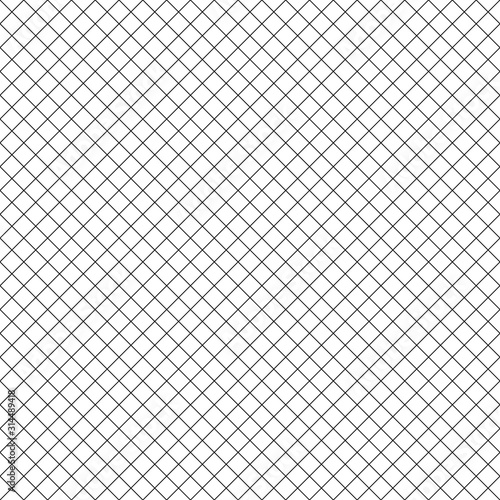 square-grid-vector-seamless-pattern-modern-abstract-geometric-black-and-white-texture-with-thin-diagonal-cross-lines-rhombuses-mesh-lattice-grill-simple-subtle-checkered-background-repeat-tiles