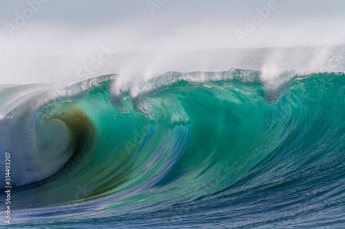 Fotografie, Tablou Brandungswellen am Atlantik