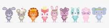 Cute Animals, Little Group Rab...