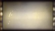 Vintage grunge video with dust grain texture overlay effects for film with space for text or image