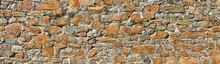 Old Unplastered Castle Wall, C...
