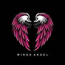 Wings Angel Vector For Valenti...