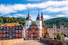 Alte Brücke, Heidelberg, Deut...