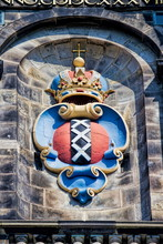 Amsterdam, Wappen An Der Westerkerk