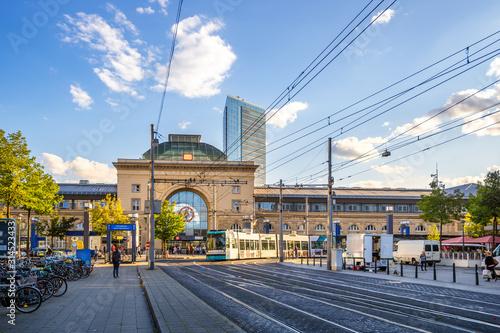 Cuadros en Lienzo Hauptbahnhof, Mannheim, Deutschland