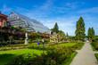 Rosengarten und Palmenhaus, Insel Mainau, Bodensee, Deutschland