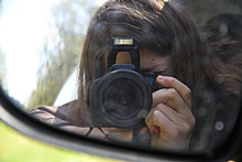 Flash Digital Camera Girl Phot...