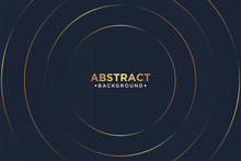 Abstract Background. Elegant Concept Design With Golden Line.