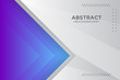Abstract grey and white tech geometric corporate design background.
