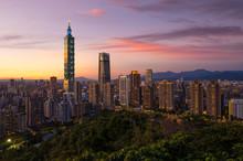 Taipei City Skyline View From ...