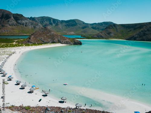 Photo Balandra beach at La Paz, Mexico