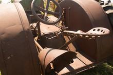 Close Up Of Operator's Metal S...