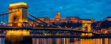 Chain Bridge With Buda Castle ...