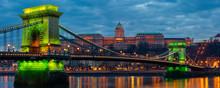 Chain Bridge With Buda Castle ...