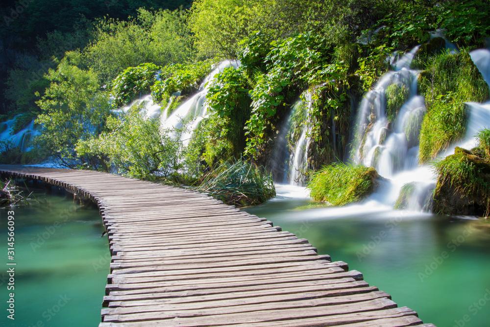Fototapeta Plitvicer Seen // Nationalpark Kroatien