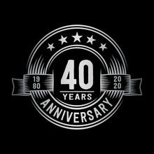 40 Years Anniversary Celebrati...