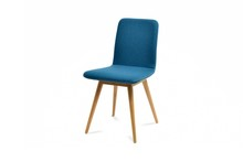 Nice Blue Chair Isolated On Wh...