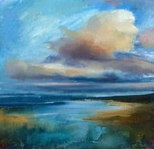Evening Marine Landscape Hand ...