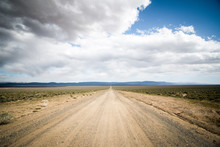 Long Dirt Road That Leads To T...