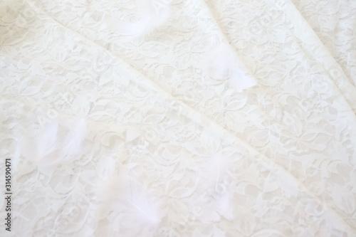 Photo white paper texture background
