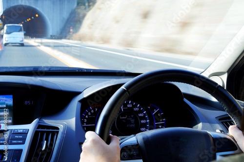 Fototapeta 自動車 運転