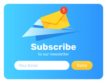Subscribe-paper-plane-popup