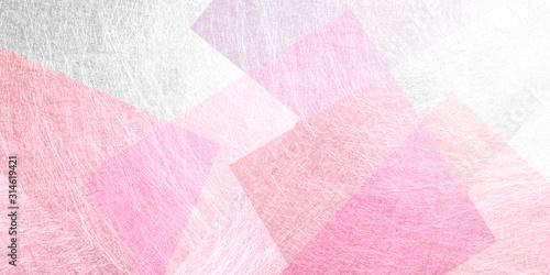 Leinwand Poster ピンク色の和紙による背景素材