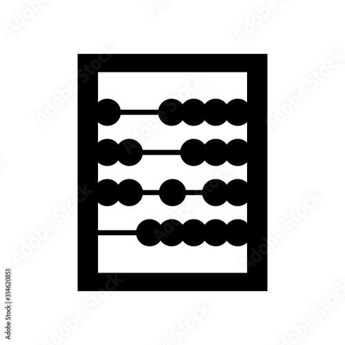 Photo abacus icon
