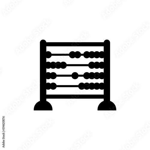 Fototapeta abacus icon