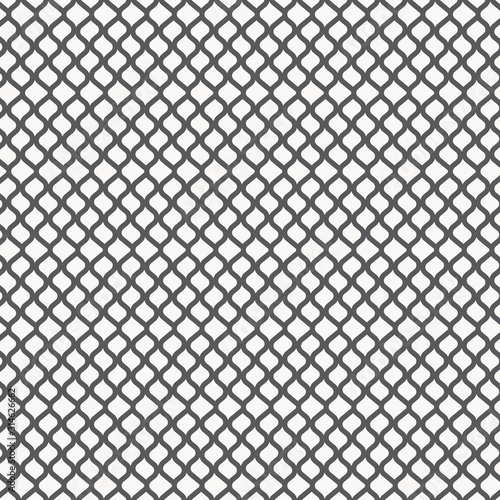 Photo Linear vector pattern, repeating asymmetry wavy stripe line