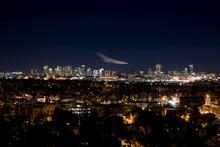 Boston City Skyline From Malde...