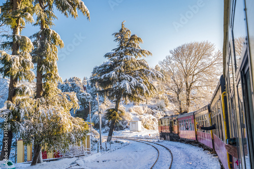 WORLD HERITAGE SITE KALKA SHIMLA RAILWAY..