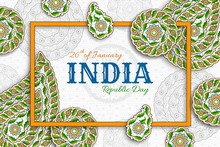 Indian Republic Day Background...